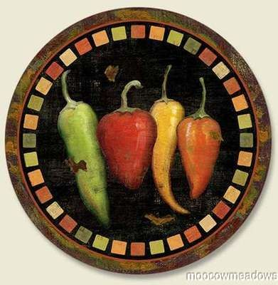 98 Best Red Chili Pepper Decorations For The Kitchen Images On Pinterest Red Chili Peppers