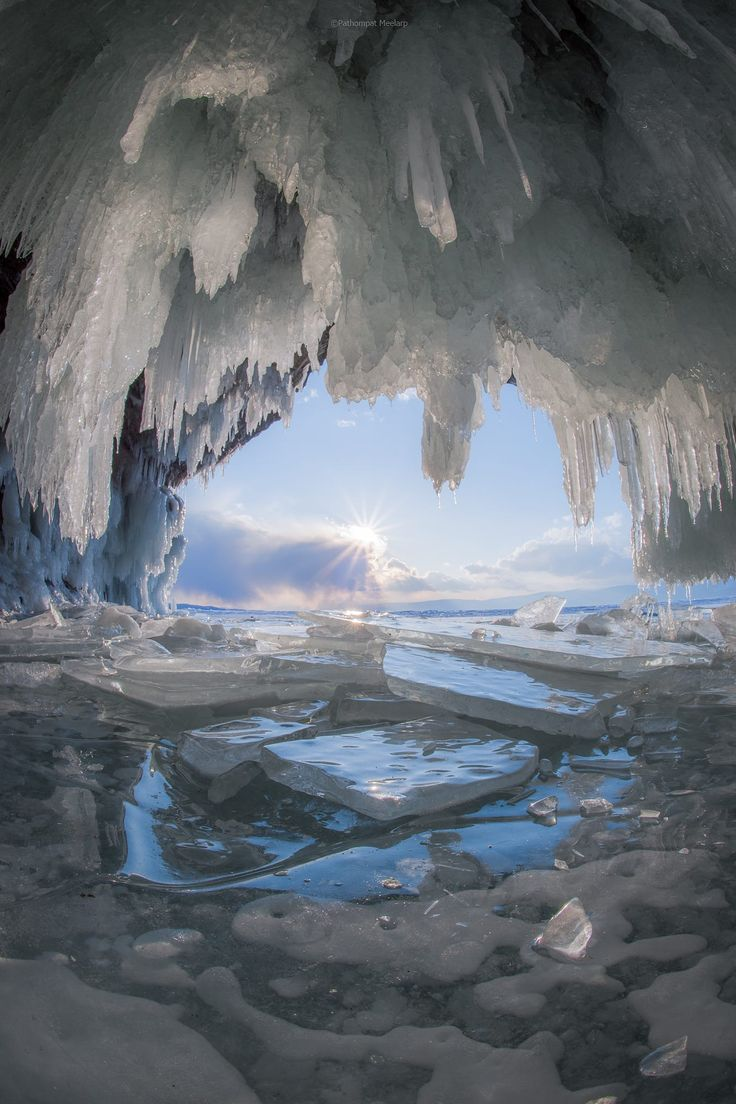 The Ice Cave - title Subzero