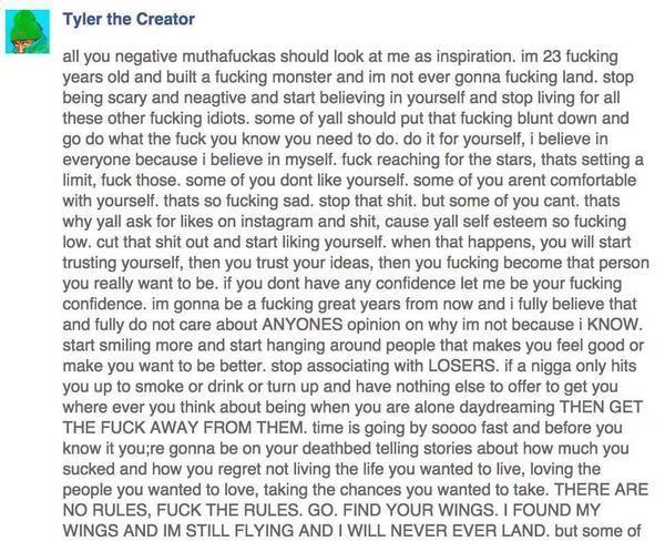 Best 25+ Tyler The Creator Lyrics Ideas On Pinterest