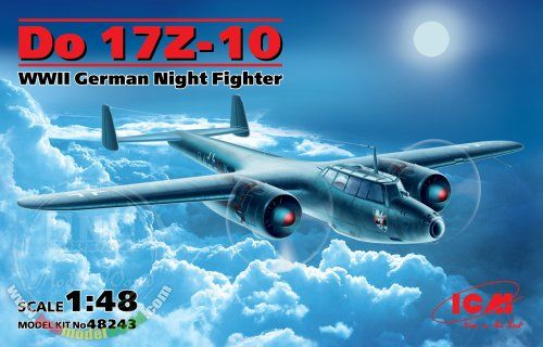 1/48 WWII German Night Fighter Dornier Do 17Z-10