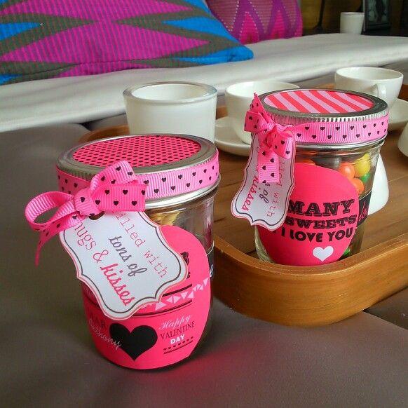 Handmade valentine gift for boyfie