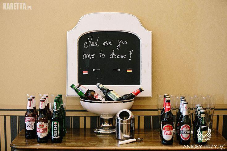 18. Lilac Wedding | Blackboard | Wedding sign |  Drink bar | Polish beer | German beer / Wesele z bzem | Weselne znaki | Polskie piwo | Niemieckie piwo | Anioły Przyjęć http://www.aniolyprzyjec.pl/