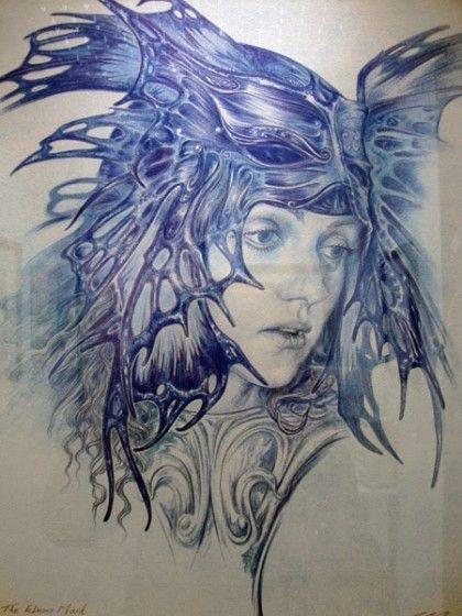 « Mask » de Ed Org (2009) – crayon
