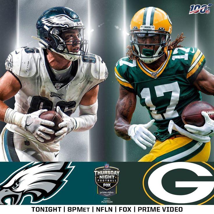 NFL philadelphiaeagles vs packers on THURSDAY NIGHT