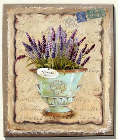 219 Best Images About Lavender On Pinterest Decoupage