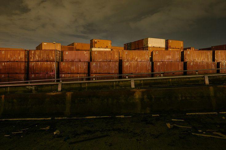ian ten - Cargo Containers. Port Klang.