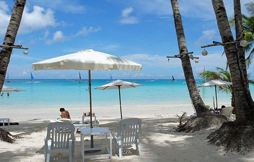 The White Beach, Boracay, Philippines | Best winter sun destinations | http://www.weather2travel.com/blog/best-winter-sun-destinations.php #travel #weather