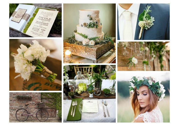 Rustic Chic - an inspiration board designed by AAWEP Diploma in Wedding Planning Styling and Design student, Cassandra.