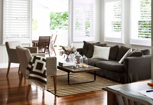 Proof that designer interiors and children can happily coexist, the renovation of this rural property in Queensland offers comfort and style in equal measure.