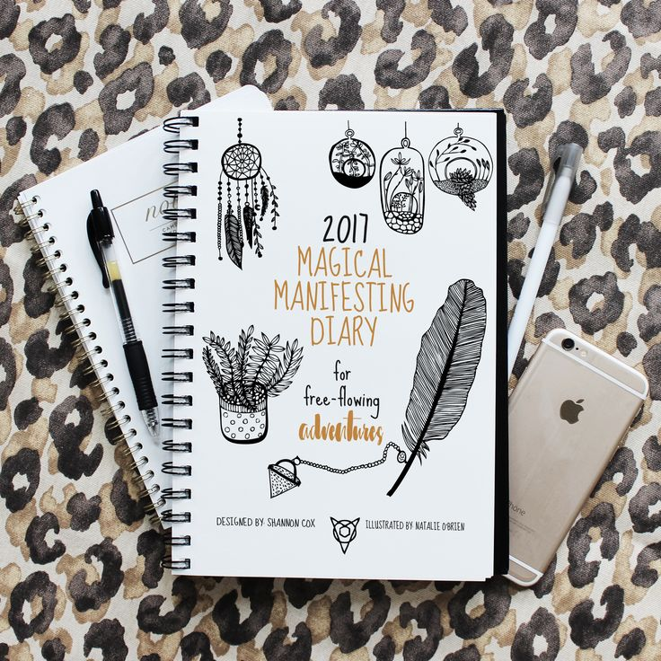 2017 Magic Manifesting Diary perfect for planning what adventures you will allow into your experience this upcoming year.  Supported by an online community of like minded individuals.  Set your bucket list & face your desires & fears all at the same time.  Bring in some magic for 2017.