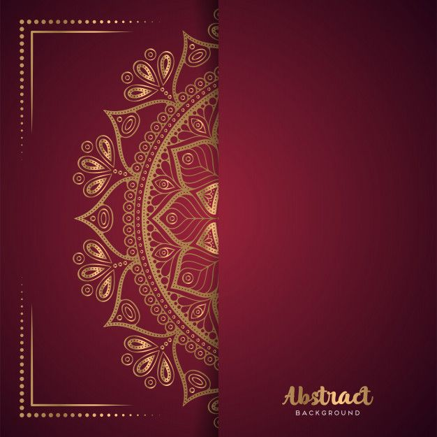download gold background with mandala for free  gold