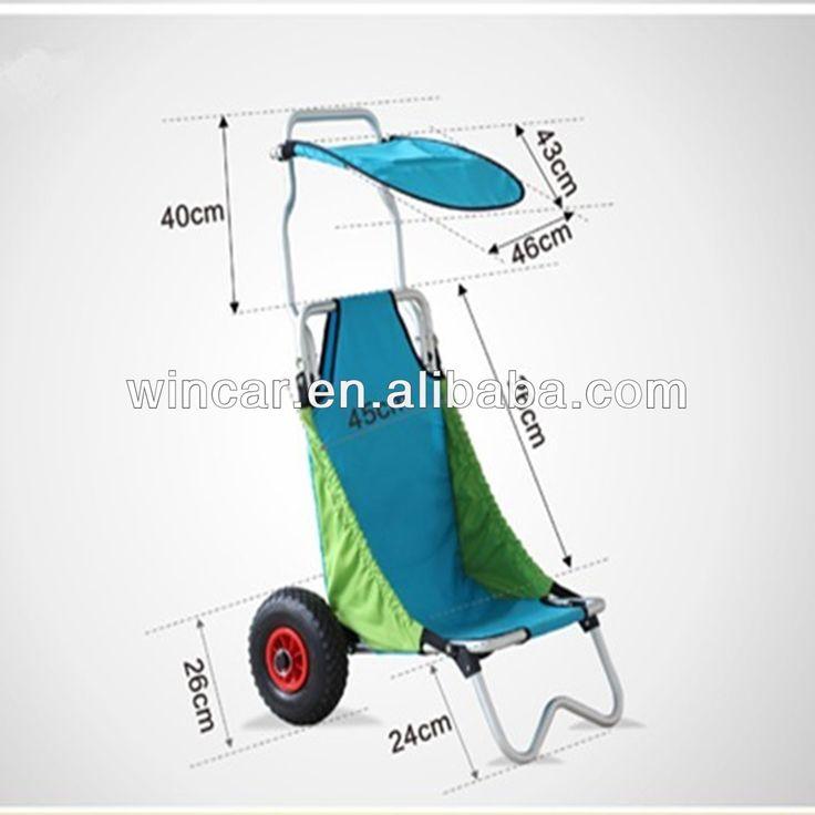 Plegable carro de playa / tabla de surf carro de playa WINKC208 por Ningbo Wincar-imagen-Carros de Mano/Carritos-Identificación del producto:527747036-spanish.alibaba.com