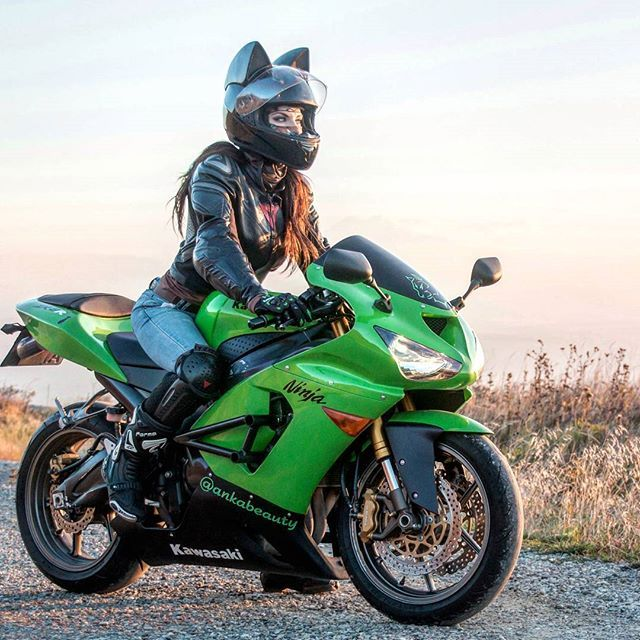 Cat Ear Motorcycle Helmets