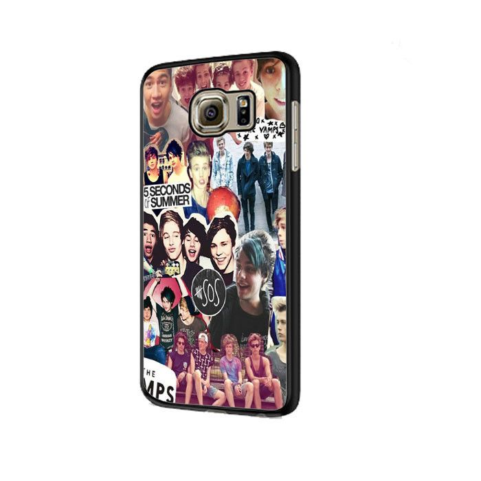 5 Second of Summer and The Vamps Collage Samsung Galaxy S6|S6 Edge Cases