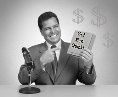"""In online marketing there are a lot of people that are asking, """"Can I get rich…"""