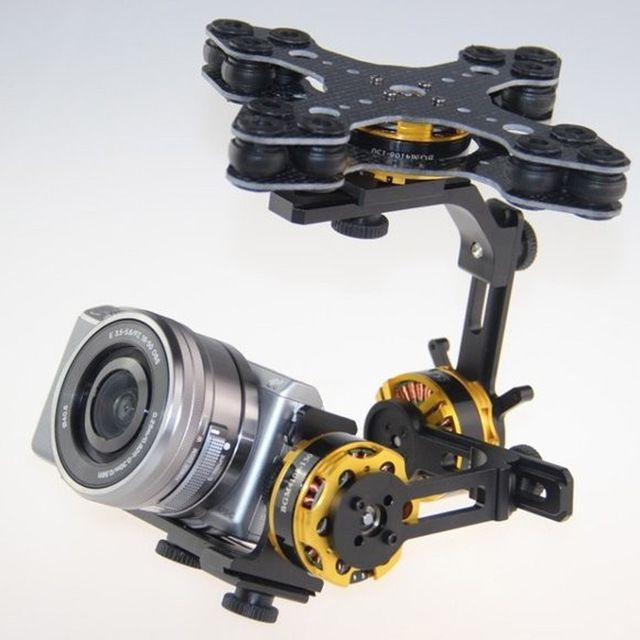 DYS 3 axis brushless gimbal W/ 32 bit Alexmos Controller BGC&DYS 4108 motor for Panasonic Sony Nex5, Nex7 FPV aerial photography US $128.00-168.0 /piece To Buy Or See Another Product Click On This Link  http://goo.gl/EuGwiH