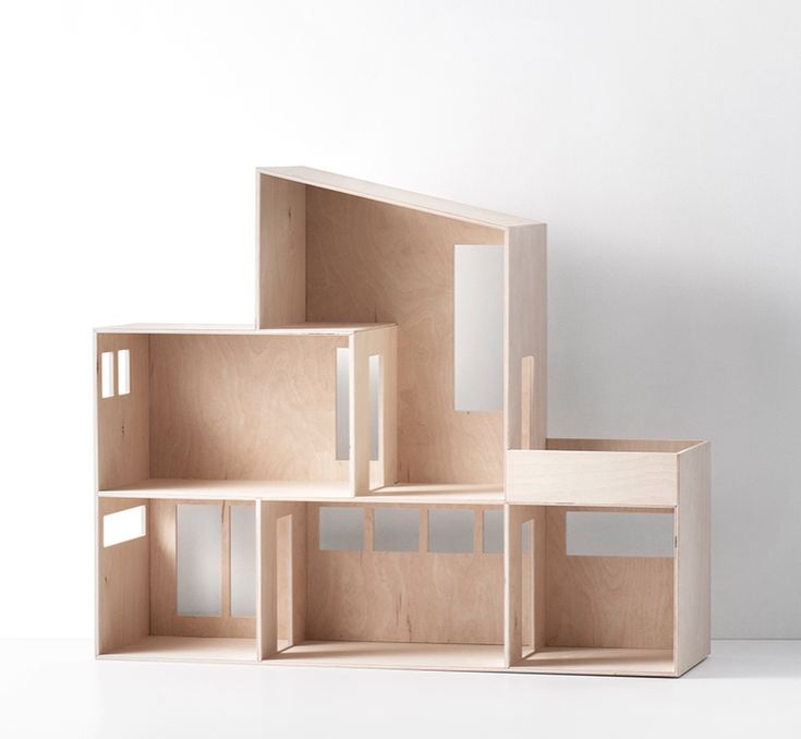 funkis doll house by ferm living - Wooden Dollhouses Designs