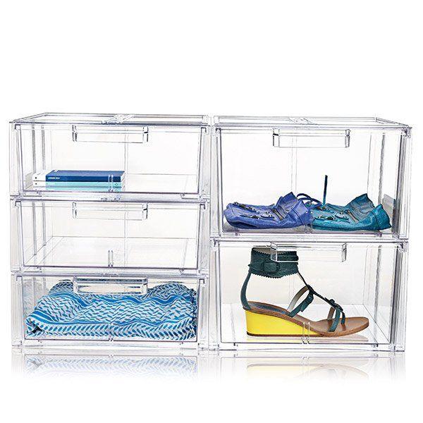 Nomess akryl skoæske str. 2. Altid på lager, hurtig levering