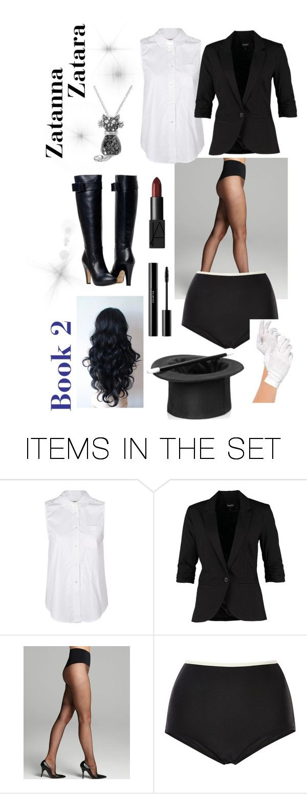 """Zatanna Zatara - Young Justice ~ MLIHR, Book 2."" by pinkbeauty63 ❤ liked on Polyvore featuring art, YoungJustice, Zatara, Zatanna, magician and MLIHR"