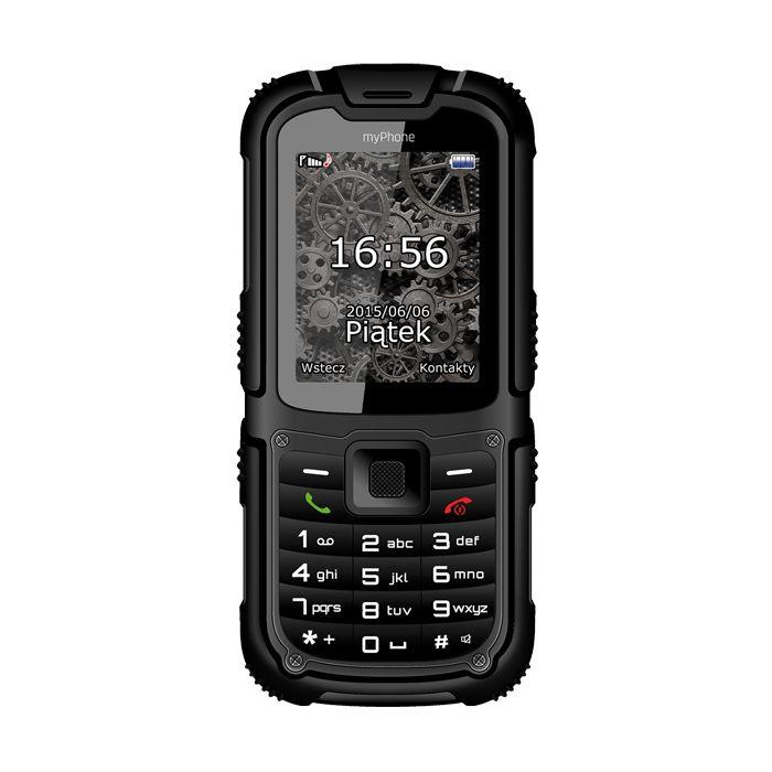 Телефон myPhone HAMMER 2+ (черен): За екстремни ситуации myPhone Hammer 2+ е достойно продължение на успешната серия Hammer.… www.Sim.bg