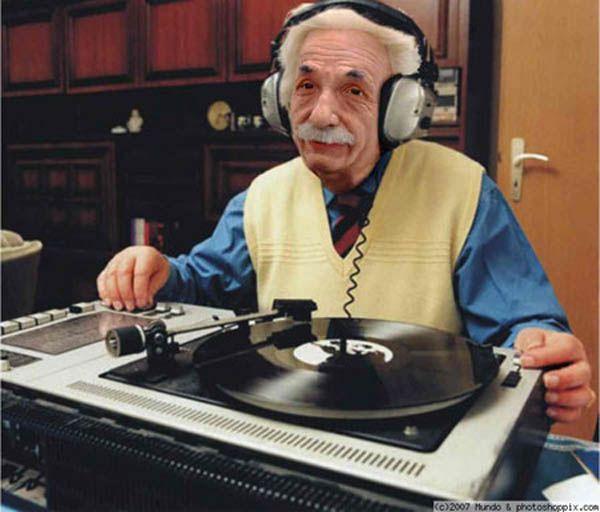 DJ Relativity (Albert Einstein)