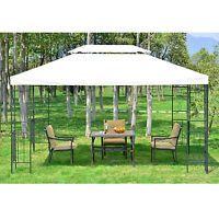 Simple Details zu Outsunny Gartenpavillon Pavillon Partyzelt Bierzelt Gartenzelt Metall xx m