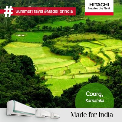 #MadeForIndia #SummerTravel This summer, Coorg in Karnataka is the place to visit!