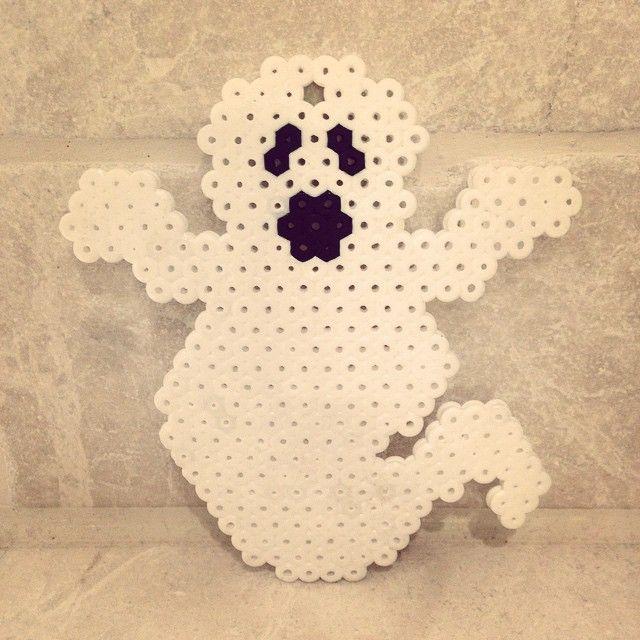 Ghost Halloween hama beads by hama_beads_n