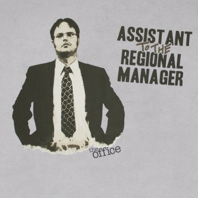 Assistant TO THE regional manager :)