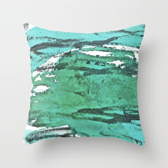 Friday Experiment Throw Pillow