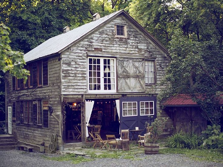 Petite rustic party barn perfect for a fun fete