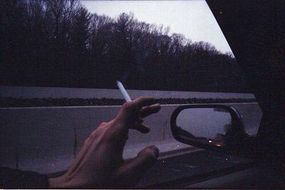 Smoke car relax