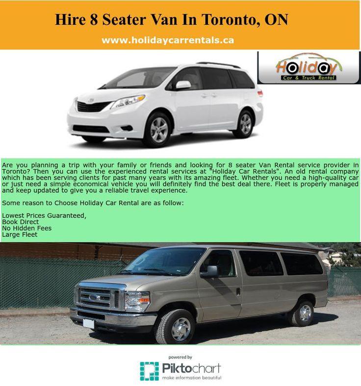 Find Best 8 Seater Van Rental Services In Toronto