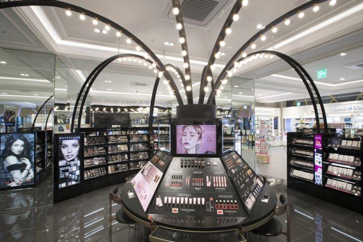 Olive Young store by centdegrés, Busan – Korea » Retail Design Blog