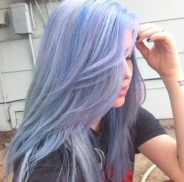 Periwinkle hair