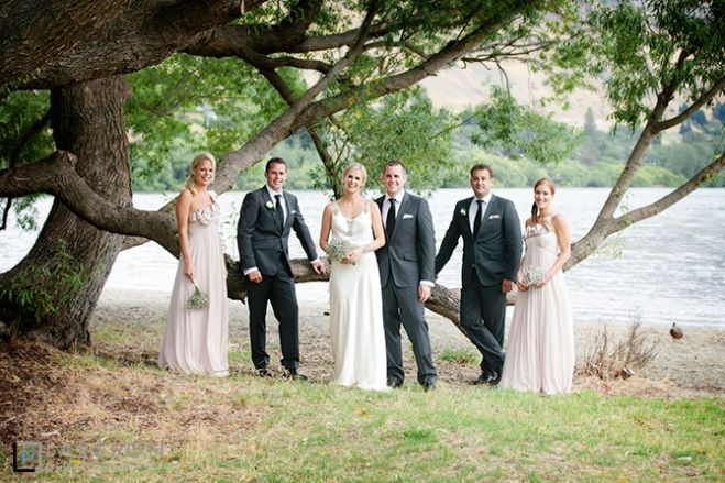 Bridal party of six