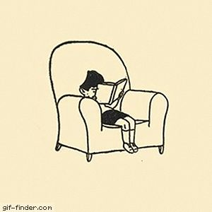 Portrait of a Small Boy Reading | Gif Finder – Find and Share funny animated gifs