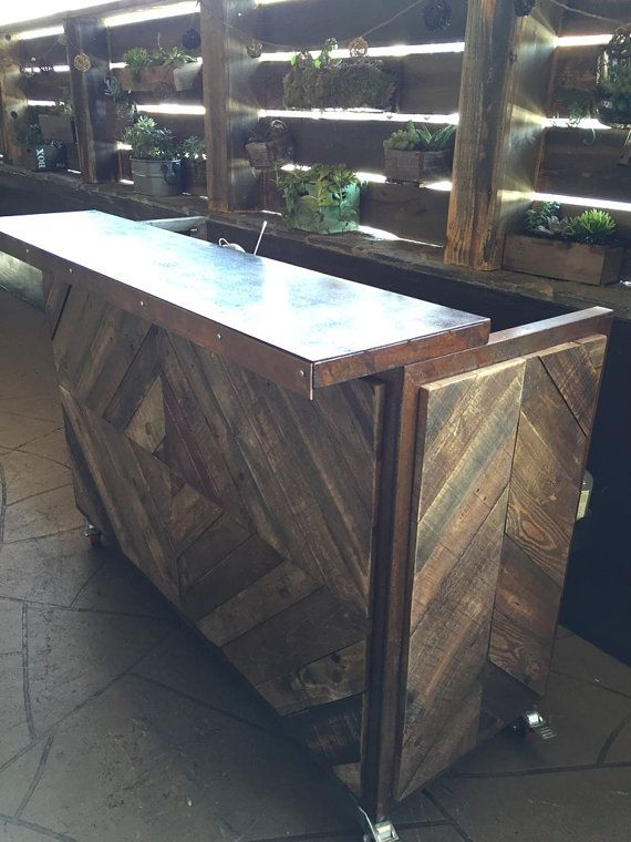 The Social A Vintage Portable Bar by RaiseTheBarOC on Etsy ($3.5K+ship)