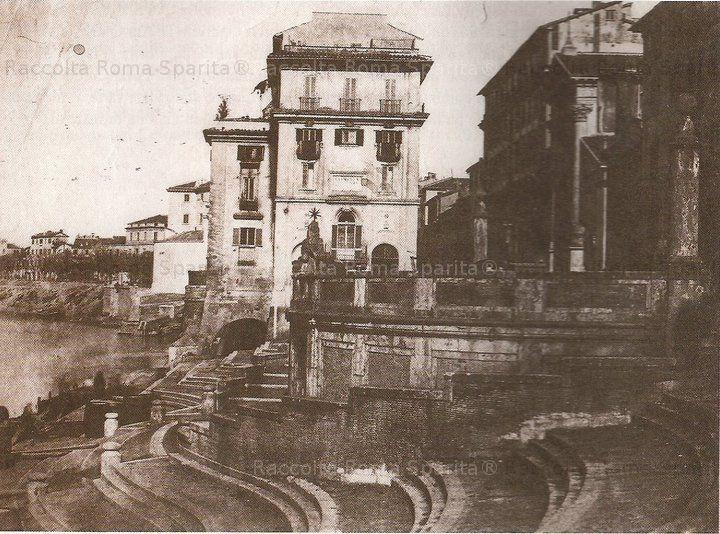 Porto di Ripetta e l'omonima via,  anno: 1880 – 1885