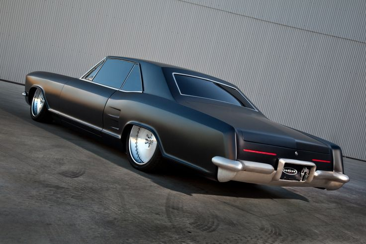 Custom Buick Riviera In The Weeds The Art Of