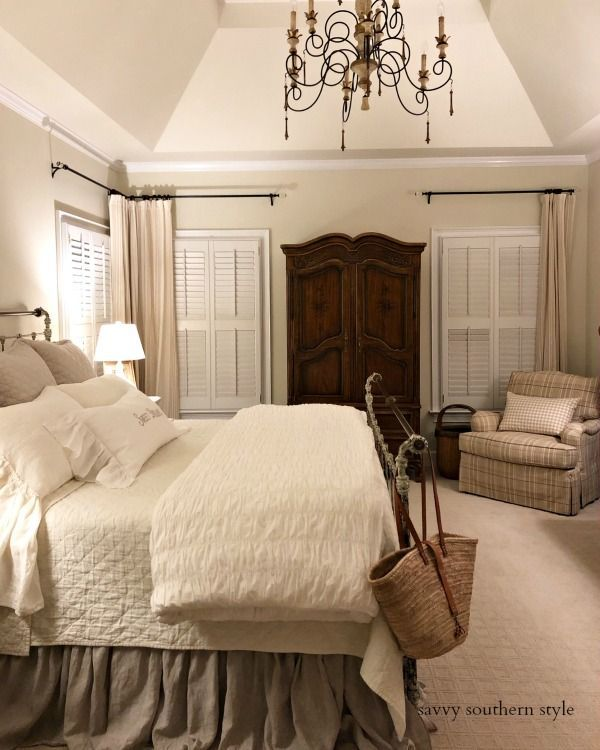 The Brighter Master Bedroom Reveal Home Decor Bedroom Master Bedrooms Decor Country Bedroom