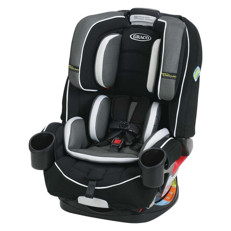 Graco 4Ever AllInOne Convertible Car Seat Jacks