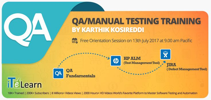 #QualityAssurance processes gained significance in a highly competitive market and there are good #opportunities for #QA Professionals. Participate in the QA Live #training program organized by leading #QATesting training providers in the world, #iTeLearn. Click here for more details. Date & Time: 13th July at 9.00 AM Pacific./9.30 PM IST Register here- http://itelearn.com/qa-hp-alm-jira-live-training