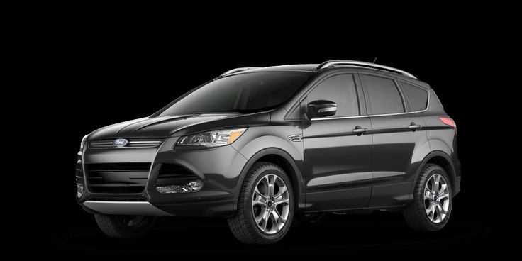 2016 Ford Escape Metallic with Black leather seats; as built $32,965