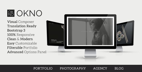 Okno - Creative Multipurpose WordPress Theme