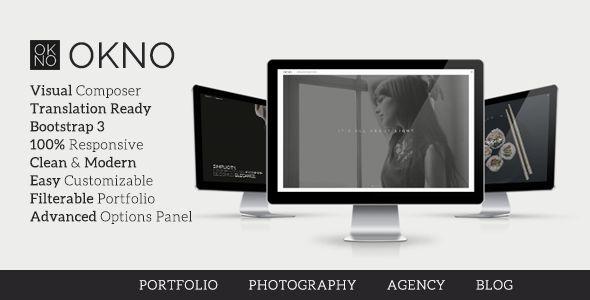 Okno - Creative Multipurpose WordPress Theme