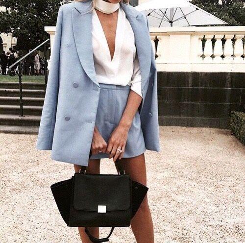 // Pinterest @esib123 //    short suit  ღ the girl next dior