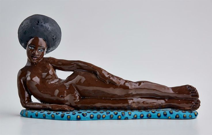 Reclining Afro Nude http://www.maureenvisage.co.za/