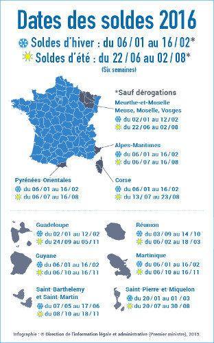 Les dates des soldes 2016 dévoilées - Actualité : Distribution (#602518)