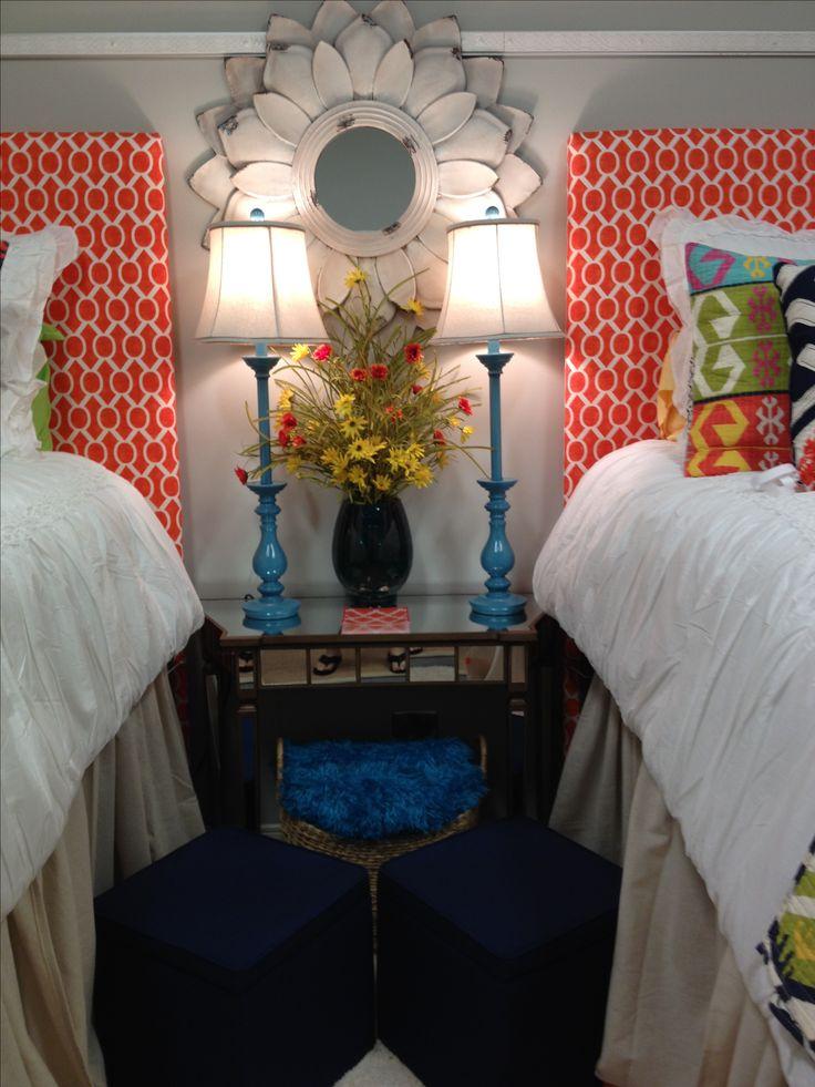 College. Dorm. Room. Bedding and decor. Mississippi state university